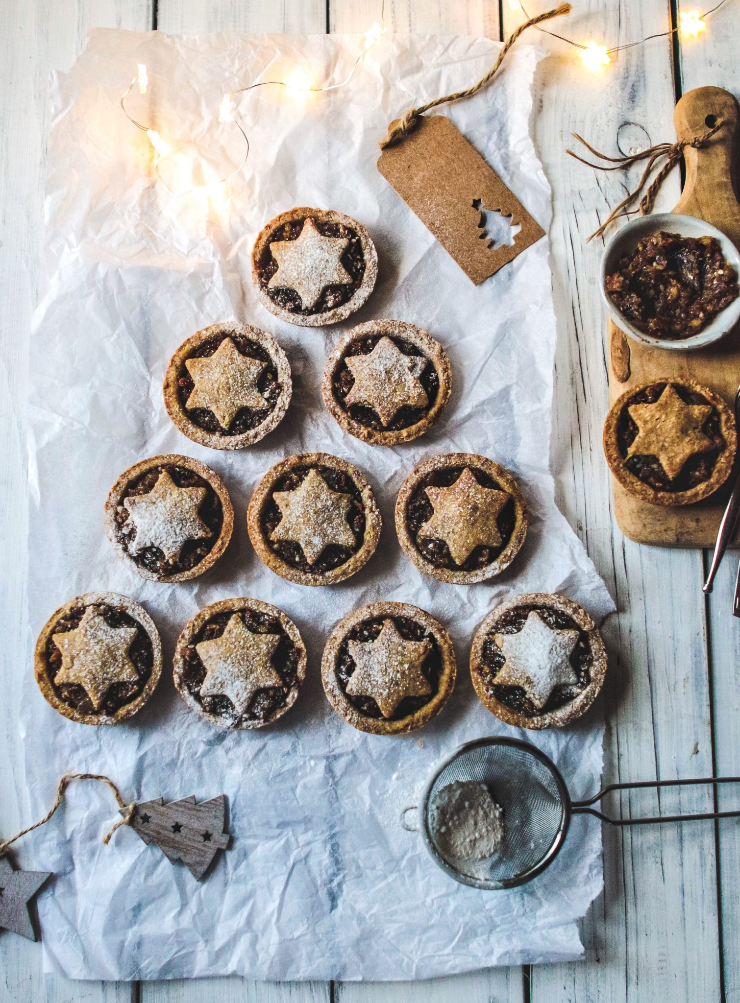 Healthy Mince Pies (vegan & gluten free) - Rebel Recipes