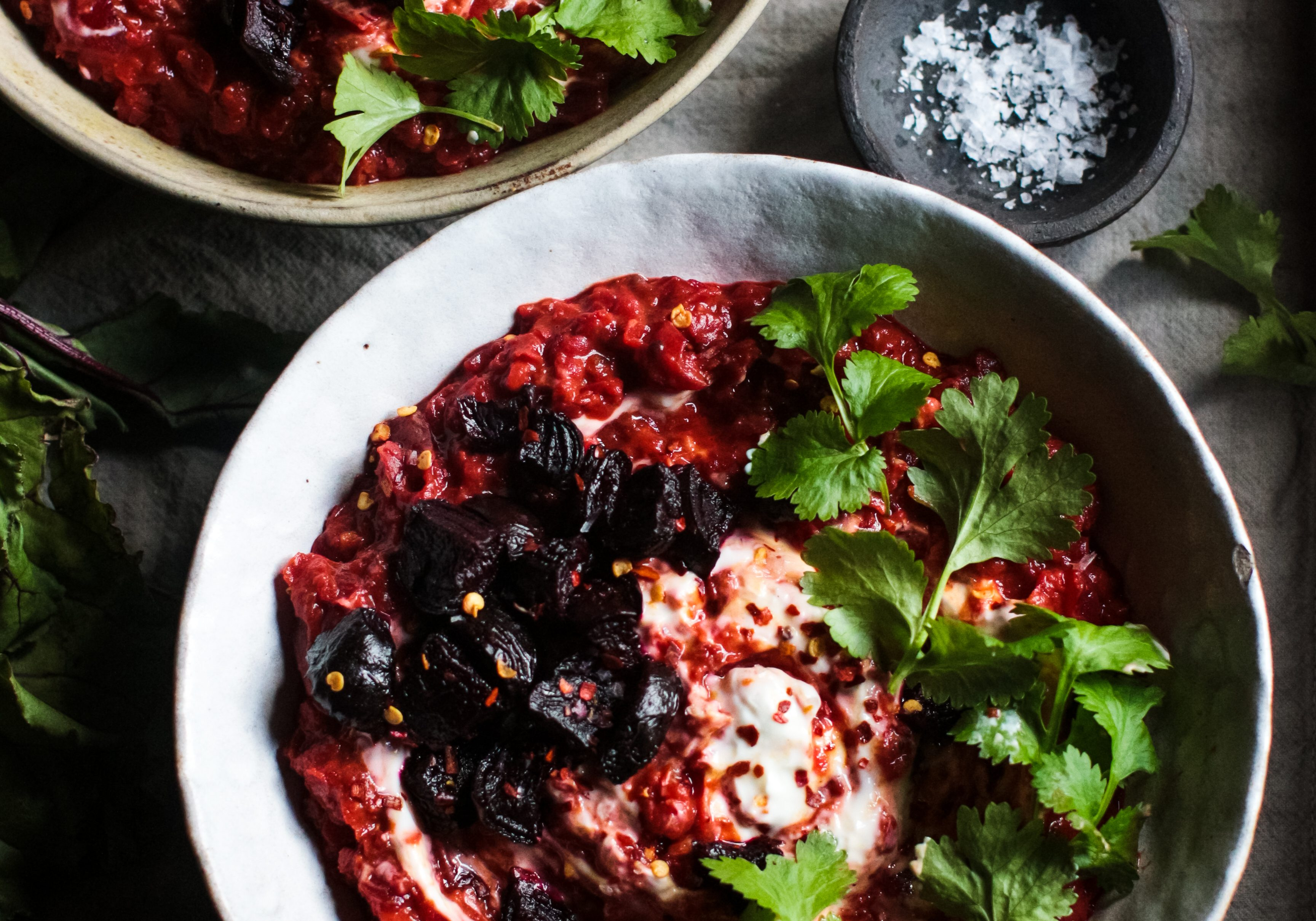 Beetroot dal