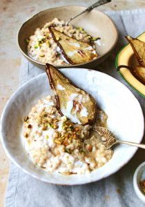 Coconut cardemon rice pudding 1