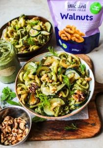 Walnut pesto pasta 6-1