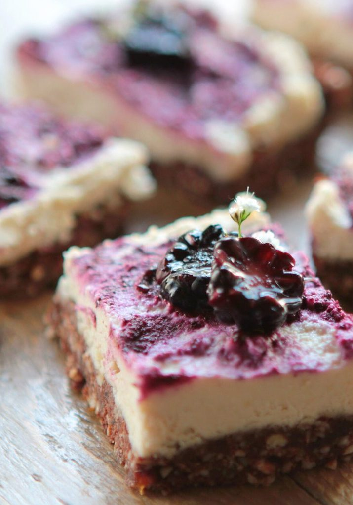 Superfood cheesecakes